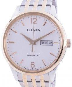 Citizen Automatic Dual Tone Japan Made NH7504-52A Mens Watch