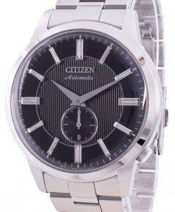 Citizen Black Dial Automatic Japan Made NK5000-98E Mens Watch