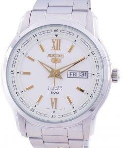 Seiko 5 Automatic White Dial SNKP15 SNKP15K1 SNKP15K Men's Watch