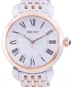 Seiko Discover More White Dial Quartz SUR628 SUR628P1 SUR628P Women's Watch