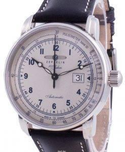 Zeppelin 100 Jahre Pulsometer Automatic 7654-4 76544 Men's Watch