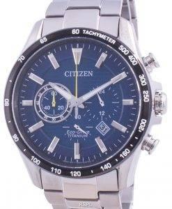 Citizen Eco-Drive Super Titanium Tachymeter CA4444-82L 100M Men's Watch