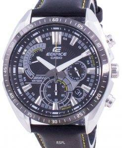 Casio Edifice Chronograph Quartz EFR-570BL-1A EFR570BL-1A 100M Men's Watch