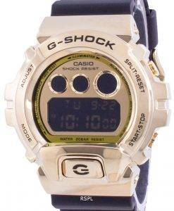 Casio G-Shock Gold Tone Resin GM-6900G-9 GM6900G-9 200M Men's Watch
