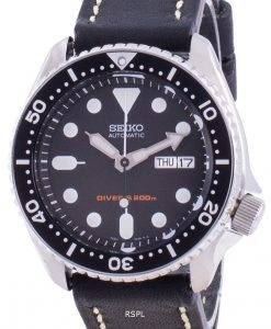 Seiko Automatic Diver's Black Dial SKX007K1-var-LS16 200M Men's Watch