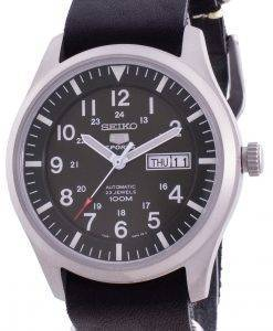 Seiko 5 Sports Military Automatic SNZG09K1-var-LS19 100M Men's Watch