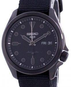 Seiko 5 Sports Black Dial Nylon Strap Automatic SRPE69 SRPE69K1 SRPE69K 100M Men's Watch