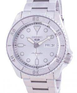 Seiko 5 Sports Silver Dial Stainless Steel Automatic SRPE71 SRPE71K1 SRPE71K 100M Men's Watch