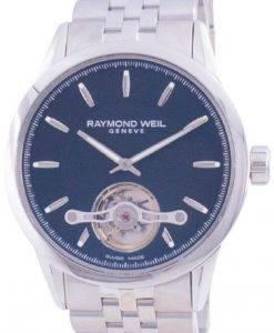Raymond Weil 프리랜서 Geneve Open Heart 다이얼 오토매틱 2780-ST-20001100M 남성용 시계