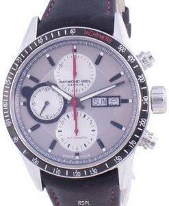 Raymond Weil 프리랜서 Geneve 크로노 그래프 오토매틱 7731-SC1-65421 100M 남성용 시계