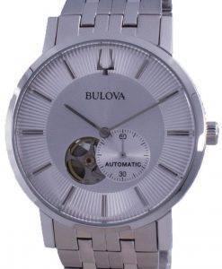 Bulova Clipper Open Heart 다이얼 오토매틱 96A238 남성용 시계