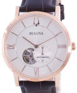 Bulova American Clipper은 다이얼 오토매틱 97A150 남성용 시계
