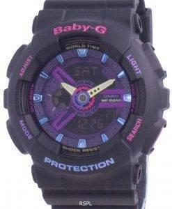 카시오 Baby-G 스페셜 컬러 BA-110TM-1A BA110TM-1A 100M 여성용 시계