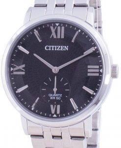 씨티즌 블랙 다이얼 스테인레스 스틸 쿼츠 BE9170-72E 남성용 시계