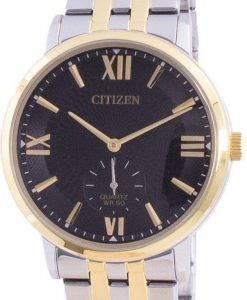 씨티즌 블랙 다이얼 스테인레스 스틸 쿼츠 BE9176-76E 남성용 시계