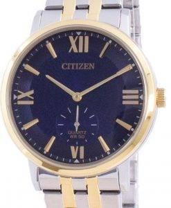 씨티즌 블루 다이얼 스테인레스 스틸 쿼츠 BE9176-76L 남성용 시계