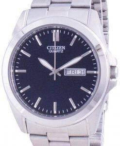 씨티즌 블루 다이얼 스테인레스 스틸 쿼츠 BF0580-57L 남성용 시계