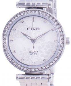 Citizen 다이아몬드 악센트 쿼츠 ER0211-52A 여성용 시계
