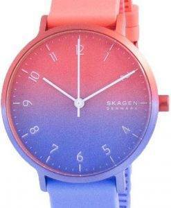 Skagen Aaren Ombre 멀티 컬러 다이얼 쿼츠 SKW2901 여성용 시계