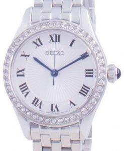 Seiko Discover More 다이아몬드 악센트 쿼츠 SUR333 SUR333P1 SUR333P 여성용 시계