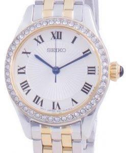 Seiko Discover More 다이아몬드 악센트 쿼츠 SUR336 SUR336P1 SUR336P 여성용 시계