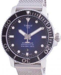 Tissot Seastar 1000 Powermatic 80 오토매틱 다이버 T120.407.11.041.02 T1204071104102300M 남성용 시계