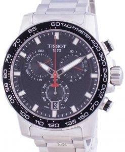 Tissot Supersport 크로노 쿼츠 T125.617.11.051.00 T1256171105100 100M 남성용 시계