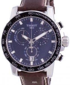 Tissot Supersport 크로노 그래프 쿼츠 T125.617.16.041.00 T1256171604100 100M 남성용 시계