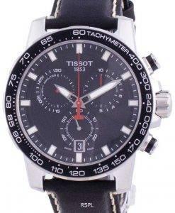 Tissot Supersport 크로노 쿼츠 T125.617.16.051.00 T1256171605100 100M 남성용 시계