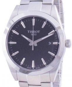Tissot Gentleman 쿼츠 T127.410.11.051.00 T1274101105100 100M 남성용 시계