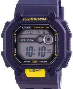 Casio Youth Illuminator Digital W-737H-2A W737H-2A 100M 남성용 시계