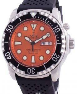 비율 무료 다이버 헬륨 안전 1000M 사파이어 오토매틱 1068HA90-34VA-ORG 남자 시계