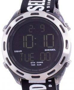 디젤 크러셔 디지털 블랙 나일론 쿼츠 DZ1914 남성용 시계