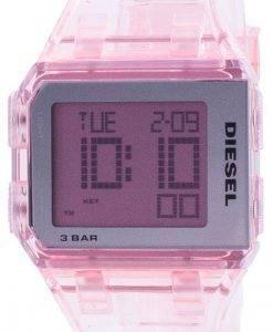 디젤 촙 밀레 니얼 핑크 투명 쿼츠 DZ1920 남여 시계