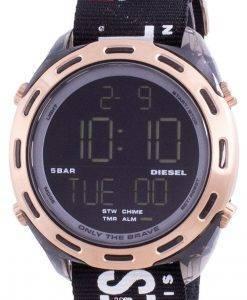 디젤 크러셔 디지털 블랙 나일론 쿼츠 DZ1940 남성용 시계