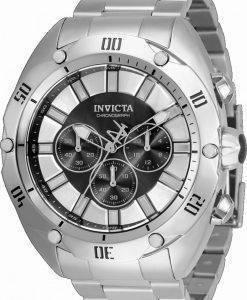 Invicta Venom 크로노 그래프 검은 색 다이얼 쿼츠 33750100M 남성용 시계