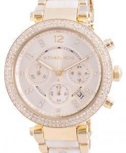 Michael Kors Parker 다이아몬드 악센트 쿼츠 MK6831 여성용 시계