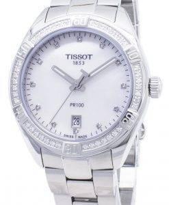 Tissot T-Classic PR 100 Lady sport T 101.910.61.116.00 T1019106111600 Diamond accenter Quartz dame ur