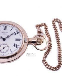 Tissot T-Pocket Savonnette Mekanisk T864.405.99.033.01 T8644059903301 Automatisk Pocket Watch