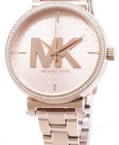 리퍼 비쉬 Michael Kors Sofie 다이아몬드 악센트 쿼츠 MK4335 여성용 시계