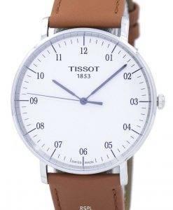 리퍼 비쉬 Tissot T-Classic Every Time 쿼츠 T109.610.16.037.00 T1096101603700 남성용 시계