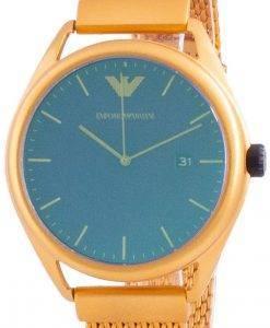 엠포리오 아르마니 마테오 퍼플 다이얼 쿼츠 AR11327 남성용 시계