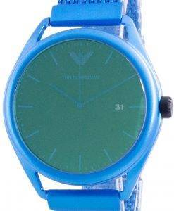 엠포리오 아르마니 마테오 그린 다이얼 쿼츠 AR11328 남성용 시계