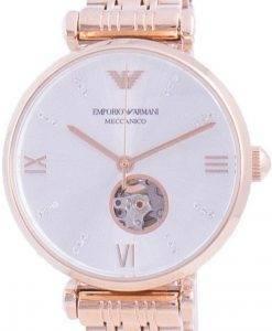 엠포리오 아르마니 Gianni 다이아몬드 악센트 오토매틱 AR60023 여성용 시계