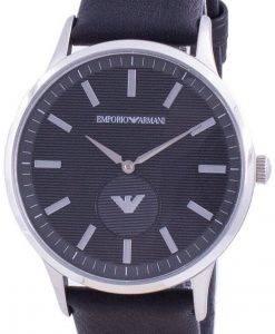 엠포리오 아르마니 Renato 검은 색 다이얼 쿼츠 AR80039 남성용 시계