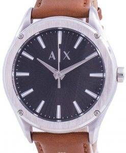 Armani Exchange Fitz 검은 색 다이얼 쿼츠 AX2808 남성용 시계