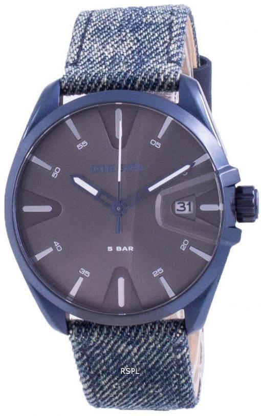 디젤 MS9 검은 색 다이얼 쿼츠 DZ1932 남성용 시계