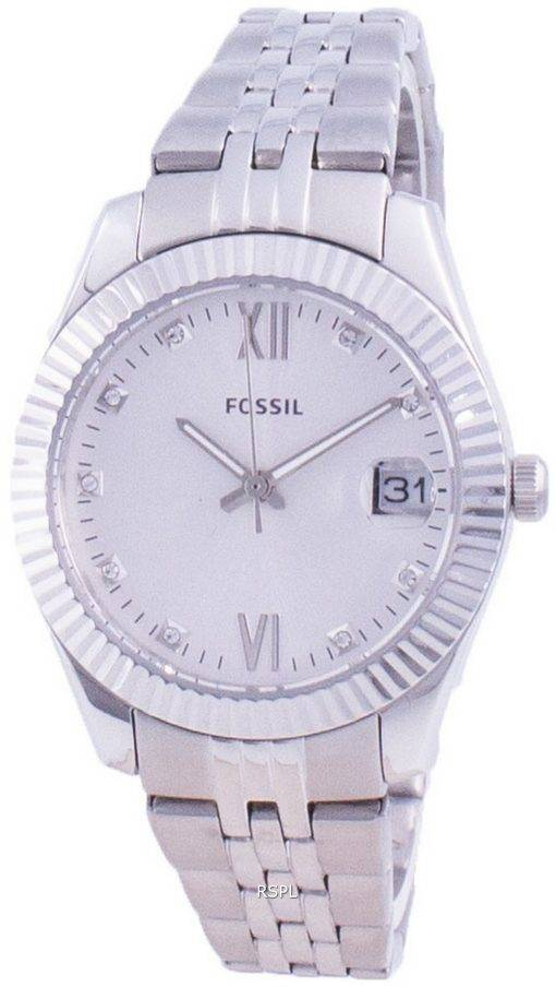 Fossil Scarlette 미니 다이아몬드 악센트 쿼츠 ES4897 여성용 시계