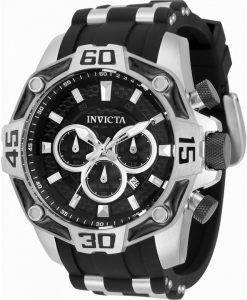 Invicta Pro 다이버 크로노 그래프 쿼츠 33850100M 남성용 시계