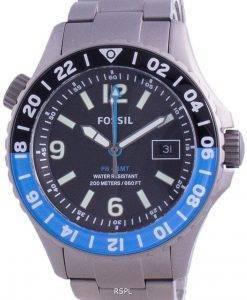 Fossil FB-GMT 큐레이터 티타늄 한정판 쿼츠 LE1100200M 남성용 시계